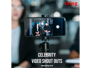 Personalized Recorded Video or shoutouts from stars - Tring