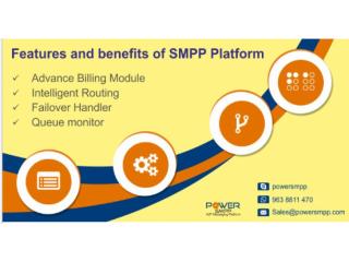 Key Features of SMPP Platform