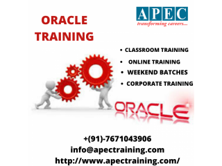 Oracle dba online training from india