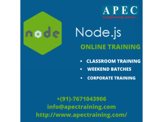 Node js online training in india
