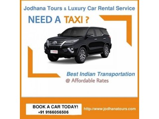 Car Rental/Hire service in Jodhpur