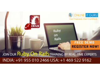 Ruby On Rails Online Training | Ruby Certification