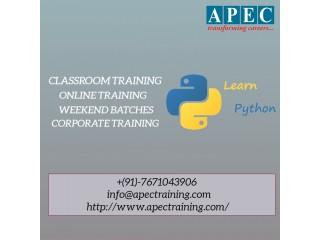 Best python online training in india