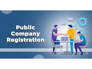Online Public Limited Company Registration