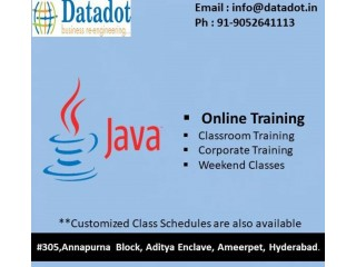 Java j2ee online training from india
