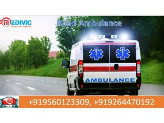 Best and Fast Road Ambulance Service in Gandhi Maidan by Medivic Ambulance at Low Price