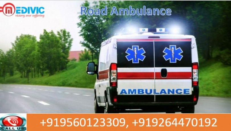 best-and-fast-road-ambulance-service-in-gandhi-maidan-by-medivic-ambulance-at-low-price-big-0