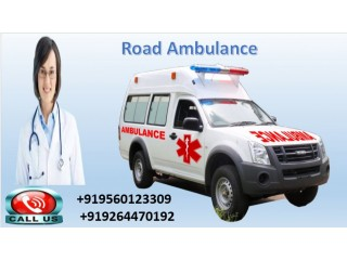 Take Road Ambulance Service in Jamshedpur by Medivic Ambulance with Medical Team