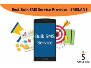 Best Bulk SMS Service Provider - SMSLane
