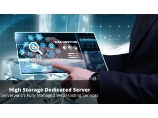 Buy Managed Large Storage Dedicated Server Solutions
