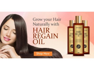 Use Hair Regain Oil To Make Your Hair Glossy And Shiny
