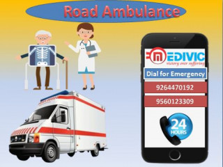 Hire Most Demanding Ambulance Service in Chatarpur with Medical Team by Medivic Ambulance