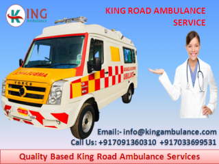 Pick Special Ambulance Service in Sri Krishna Puri by King
