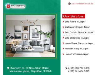 Home Furnishing and Home Decor Shops in Jaipur, Ajmer, Kota, Udaipur - RR Interiors