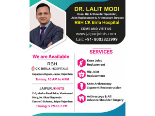 Dr Lalit Modi is the Best Orthopedic in India.