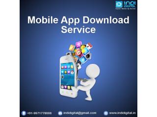 Get the best Mobile App Download Service