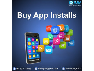 Best company to buy app Installs in India
