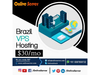 Choose Brazil VPS Server with better performance by Onlive Server
