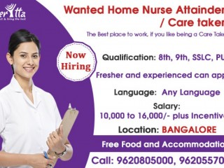 Wanted Home Nurse Attainder Care Takers