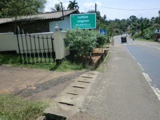Valuable land for sale in ratnapura pelmadulla.