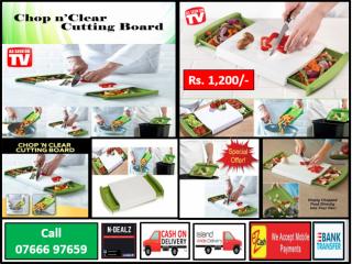 Chop N Clear Cutting Board