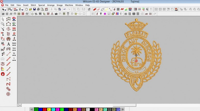 I Will Do Perfect Embroidery Digitizing Dst Colombo