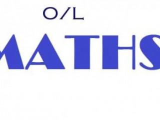 O/L Mathematics( Sinhala Medium ) - Revision