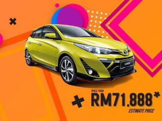 2019 All New Toyota Yaris 1.5G-Open For Booking (NEW)