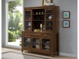 Teak Glass Cabinet