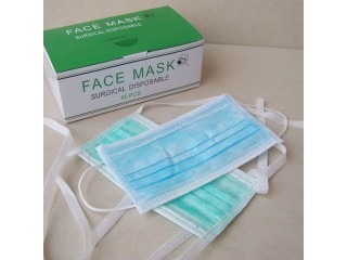 Wholesale Dentist 3Ply Earloop Disposable Face Mask Surgical Mask 3Ply Nonwoven Facemask