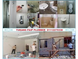 Tukang paip plumber 01112275338 azis taman melati