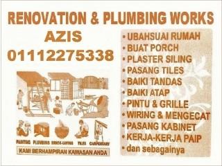 Plumbing dan renovation seksyen 2 wangsa maju