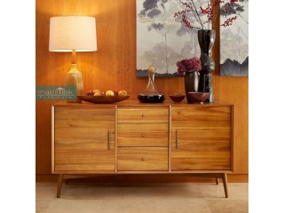 Teak Wood Sideboard - Malika Design