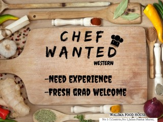 WESTERN CHEF Needed