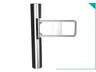 304 Stainless Steel Automatic Turnstiles Vertical Swing Door Turnstile BY HIPHEN SOLUTIONS
