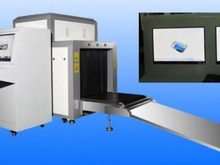 Security X Ray Machine With Lead Curtain Protective Cover BY HIPHEN SOLUTIONS