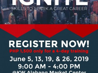 Ignite Training for June 2019 is now open for registration!