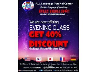 Japanese Language Evening Class