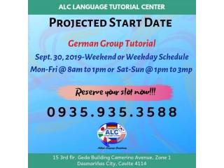 GERMAN LANGUAGE GROUP CLASS 50% DISCOUNT (September 30)