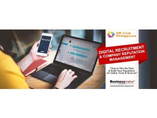 Digital Recruitment & Company Reputation Management