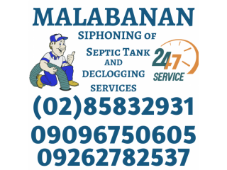 Quezon city malabanan siphoning pozo negro services 85832931/09096750605