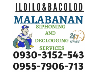 Malabanan Siphoning Septic Tank Declogging Pozo Negro Services 09262782537