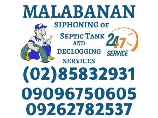 Zambales Malabanan Siphoning Septic Tank Declogging Pozo Negro Services 09262782537
