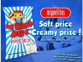 VANILLA ICE CREAM BOY PREMIX