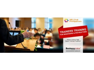 Trainers Training for Managers & Instructors