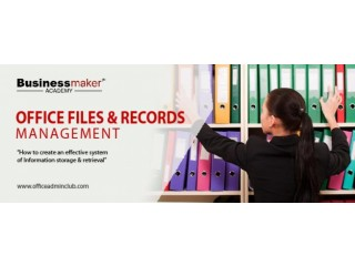 Office Files & Records Management