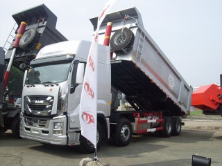 ISUZU CYH GIGA QL5400GXFW2VCHY Dump Truck Tipper 8x4 12-wheeler