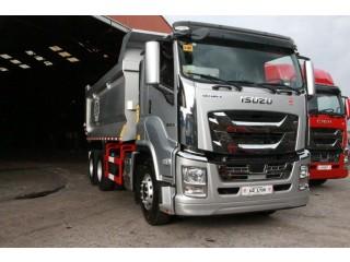 Isuzu GIGA CYZ QL1250U1QDZY Dump Truck Tipper 6x4 10 wheeler