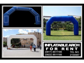 Inflatable Arch Rent Hire Manila Philippines
