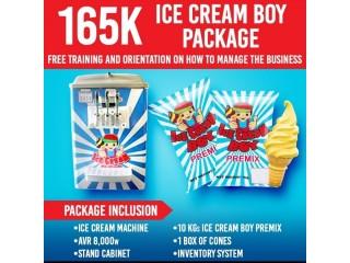 ICE CREAM BOY MACHINE